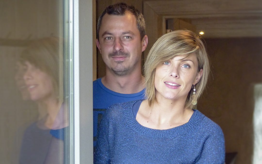 Portrait propriétaires : Amandine & Jérôme à Bertogne