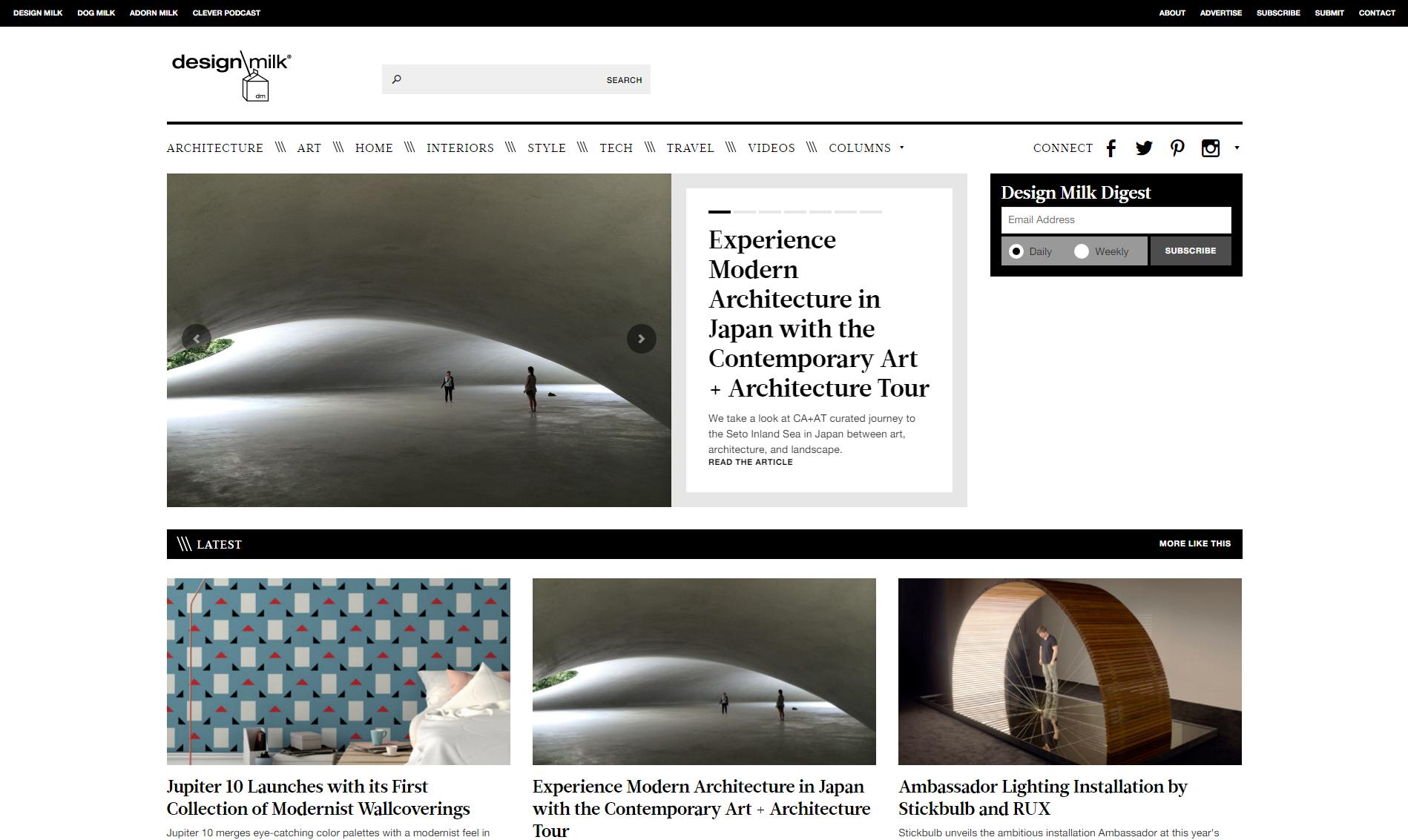 design-milk.com donne une des inspirations design