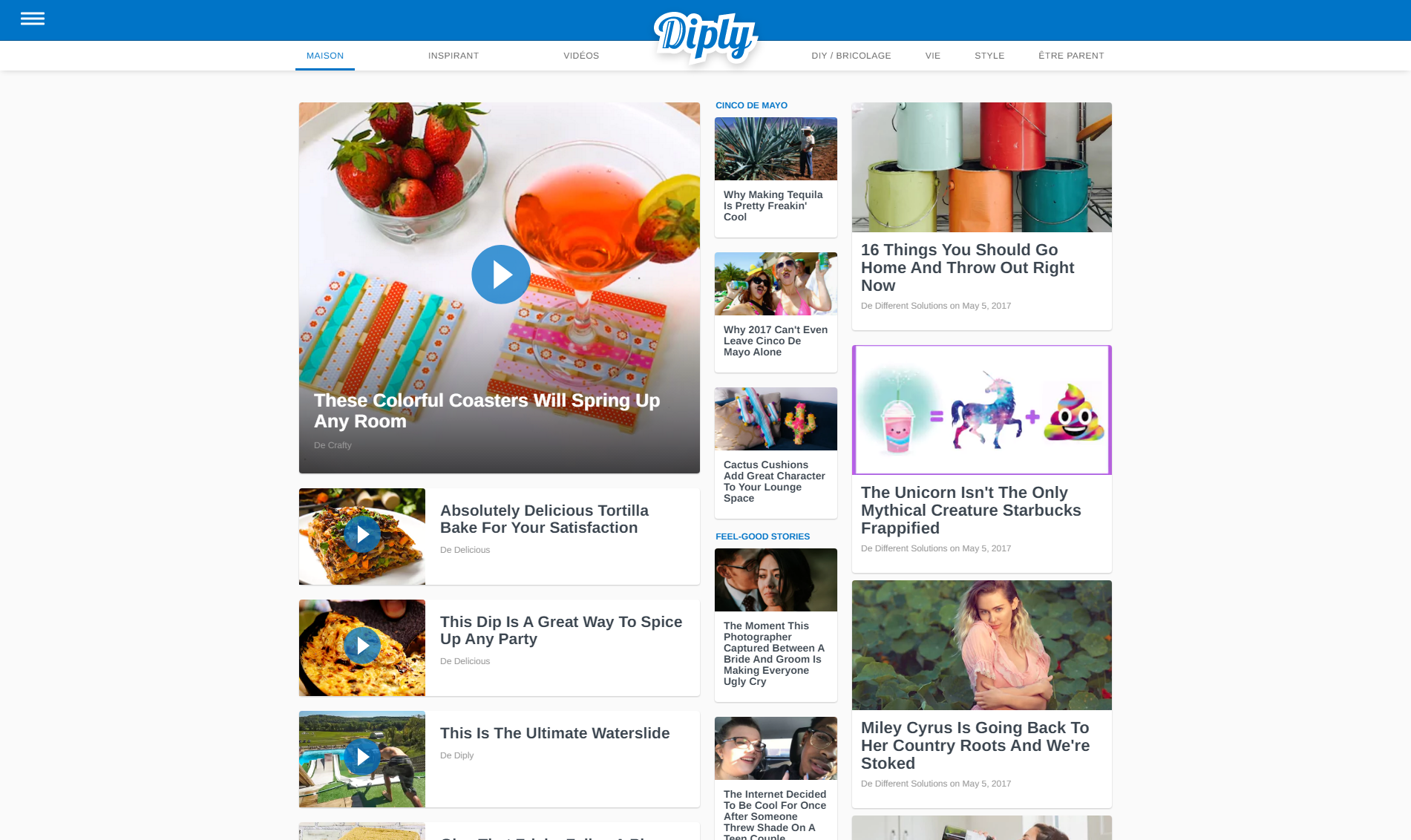 Diply.com donne des idées pour rendre votre maison agréable à vivre