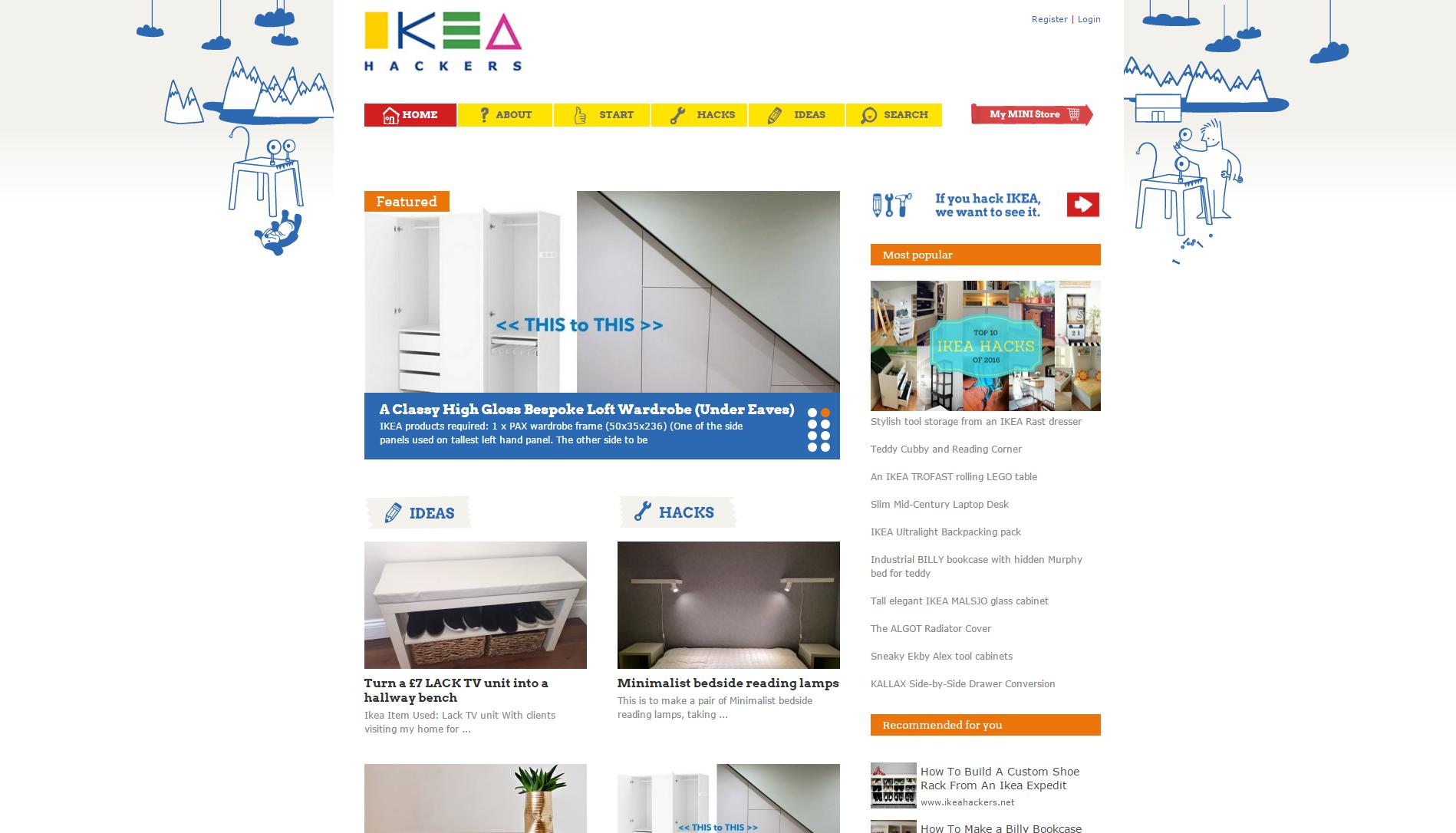 ikeahackers.com vous donne un tas d'idées pour personnaliser vos meubles IKEA