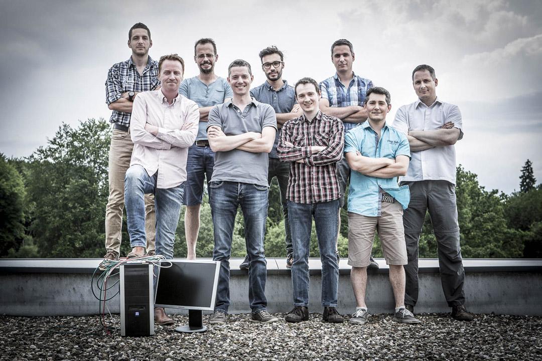 L'équipe de développeurs web du site Ardennes Etape