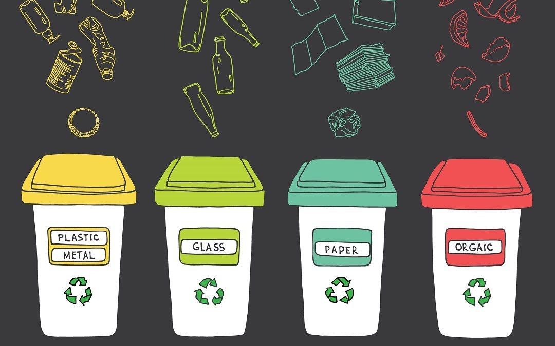 Tri des poubelles dans votre maison de vacances