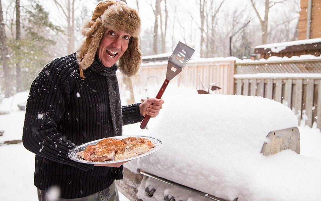 Le barbecue d'hiver, c'est un concept!