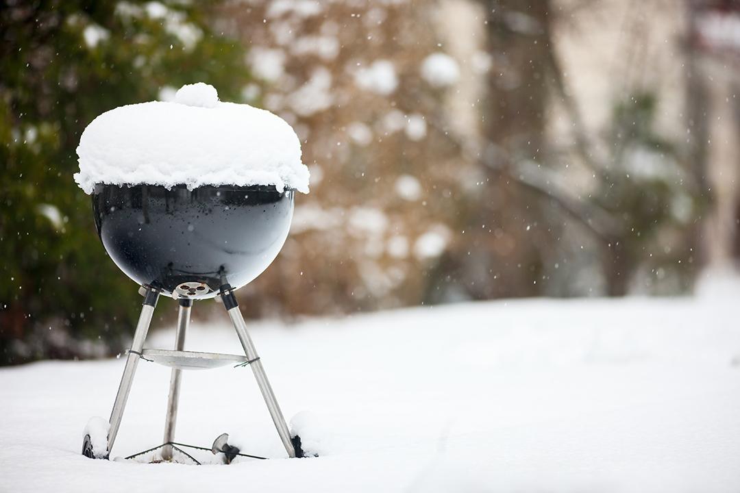 les vacanciers apprécient les barbecues en hiver