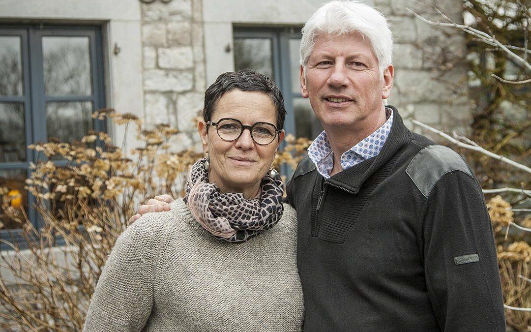 Christiane et Pascal, propriétaires d'un gîte Ardennes-Etape