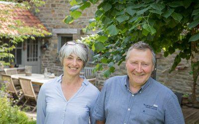 Portrait propriétaire : Monique et Philippe à Sprimont