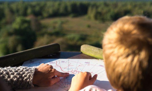 Apprenez à votre enfant entre 3 et 6 ans à lire une carte