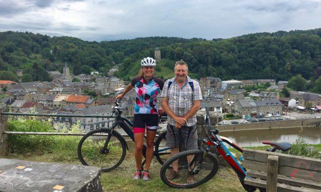 A la découverte de Comblain-Au-Pont avec Philippe