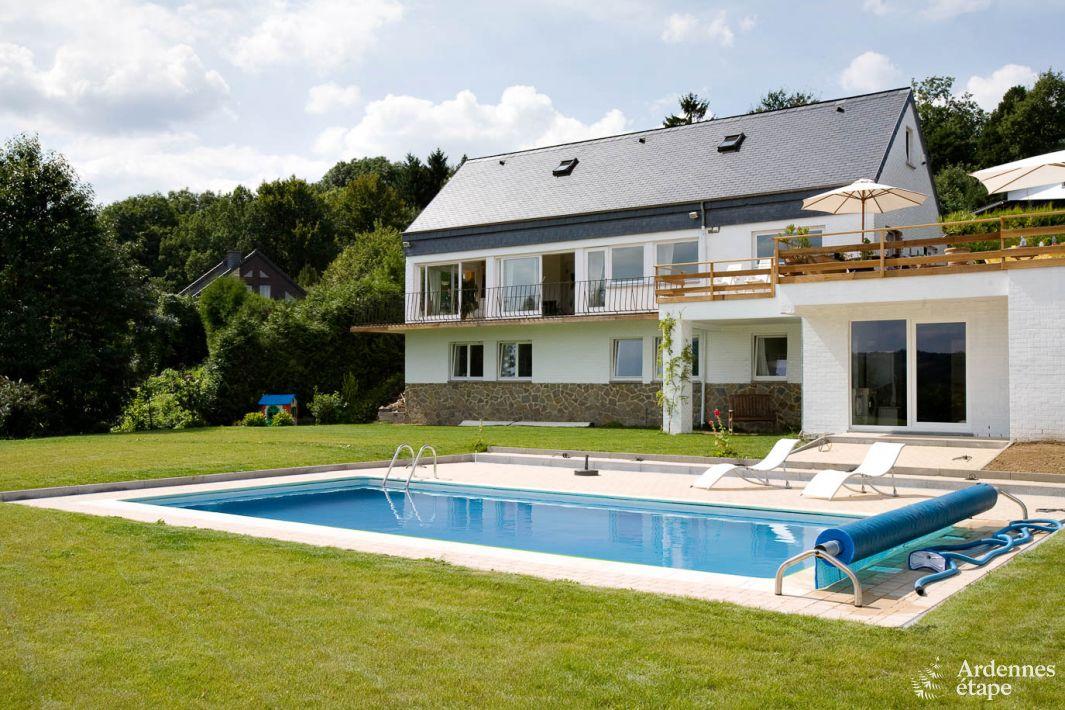 Luxueuse villa pour 12 personnes avec piscine ext rieure for Piscine 01
