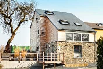 Moderne et luxueuse maison de vacances 8 personnes à louer à Bastogne