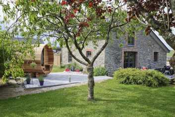 Luxueuse maison de vacances pour 5 pers. avec espace wellness à Bertrix