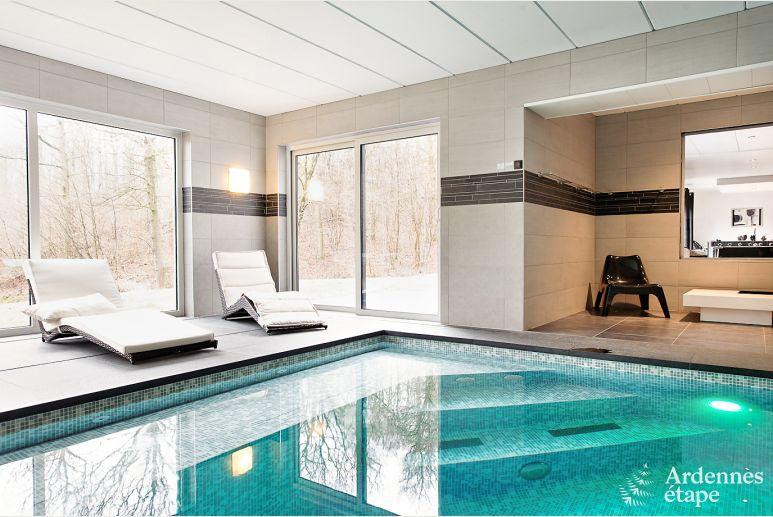 Villa De Luxe Avec Piscine Et Centre Wellness Pour 9 Pers A Durbuy