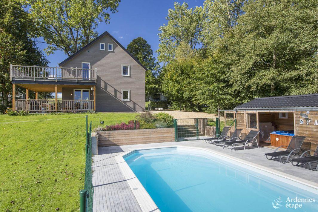 Maison de vacances avec espaces d tente et piscine pour 9 for Recherche maison avec piscine pour vacances