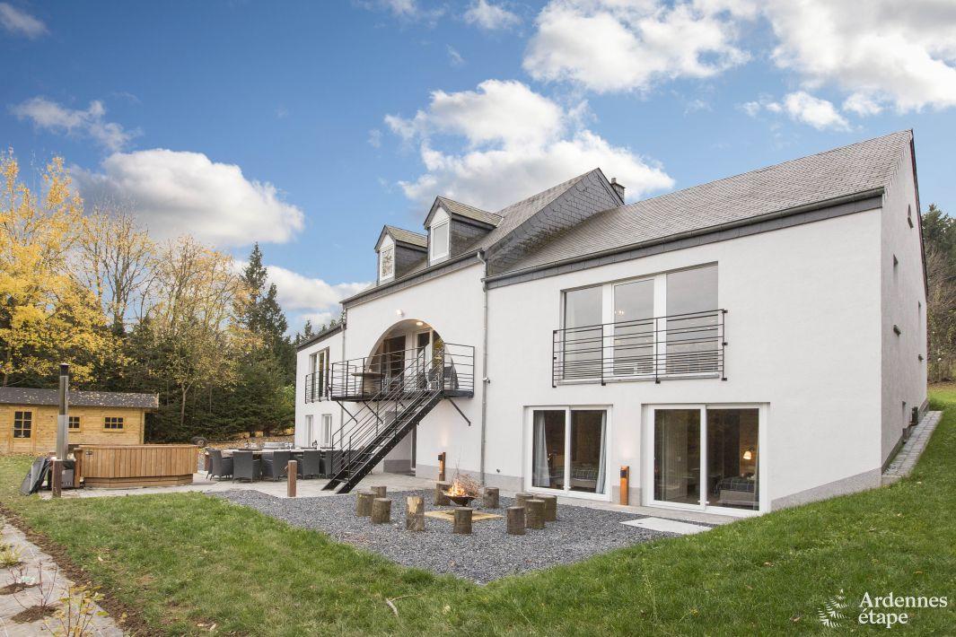Superbe location de vacances avec balcon et bain nordique for Location maison de vacances