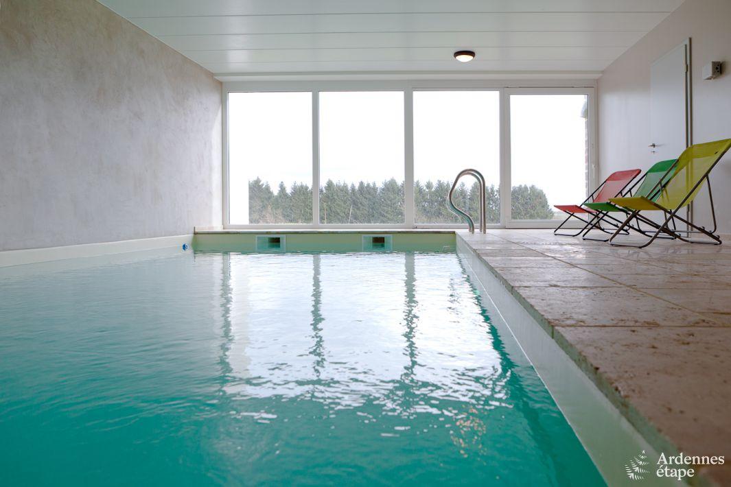 G te 4 5 toiles tout confort et piscine int rieure proche for Gite piscine interieure