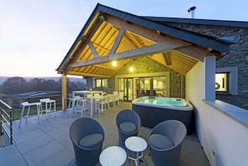 Charmant et luxueux gîte de vacances pour 9 personnes à louer à La Roche