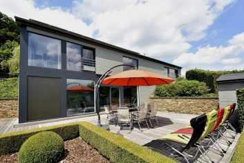 Villa de luxe avec piscine et wellness pour 9 personnes à Malmedy