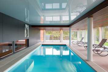 Villa de vacances grand luxe pour 8 personnes à Malmedy avec wellness