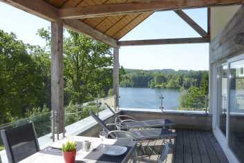 Appartement de luxe pour 4 à 6 personnes avec vue sur le lac de Robertville