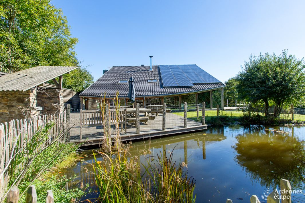 Somptueuse fermette 4 toiles robertville en province de for Maison de vacances linge de maison