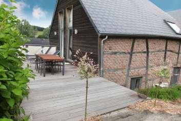 Maison de vacances spacieuse 4 étoiles pour 4 personnes à Somme-Leuze