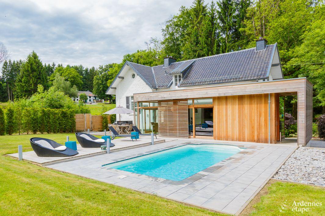 Villa de luxe pour 6 pers avec jardin et piscine spa for Piscine 02