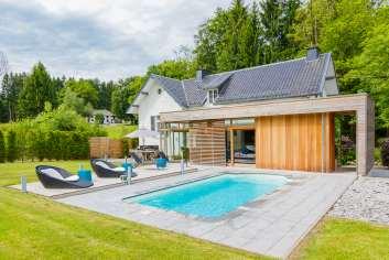 Villa de luxe pour 6 pers. avec jardin et piscine à Spa, chien admis