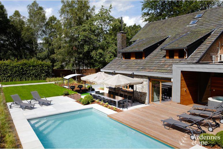 villa de luxe pour 14 pers avec jardin piscine et wellness spa
