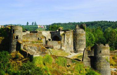 Château Féodal de La Roche-en-Ardenne-Chateaux à Province du Luxembourg