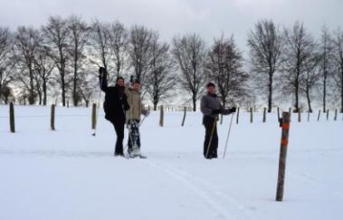 Piste de ski du Centre Sportif Worriken-Ski de fond à Province de Liège