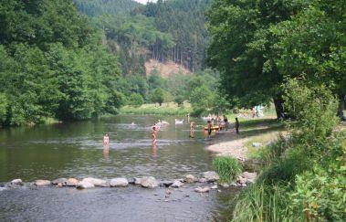 La plage de Maboge-Sports et loisirs à Province du Luxembourg